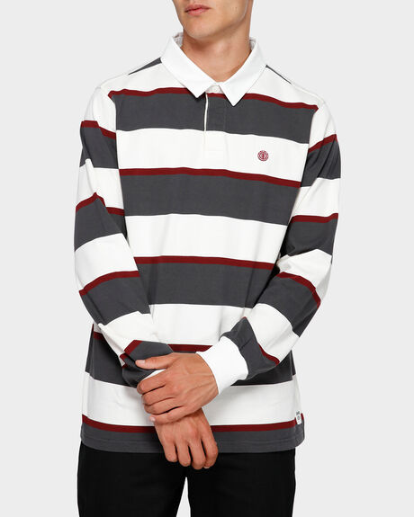 CHASIN IT RUGBY LONG SLEEVE  POLO