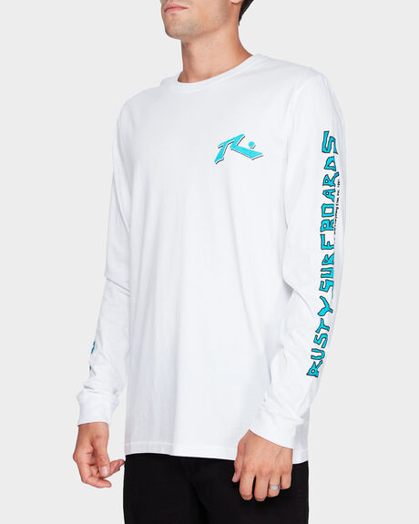 STAINED LONG SLEEVE TEE