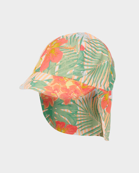 GIRLS COME AND GO SUN PROTECTION SWIM LEIGONNAIRES CAP