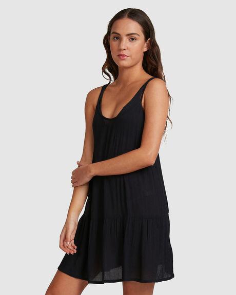 WOMENS SAND DUNE STRAPPY BEACH DRESS