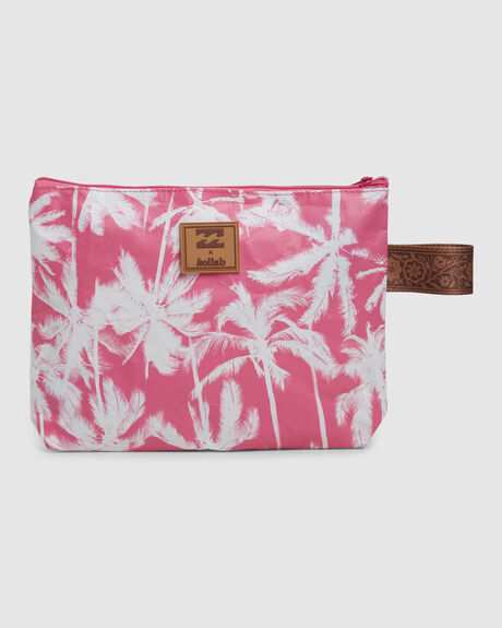 X KOLLAB PRETTY PALMS CLUTCH