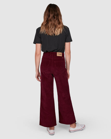 WOMENS HI BELLS CROPPED JEAN