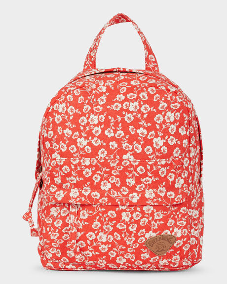 POPPY FLORAL BACKPACK