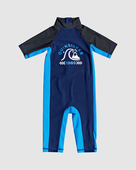 BOYS THERMO SS UPF50 RASH VEST