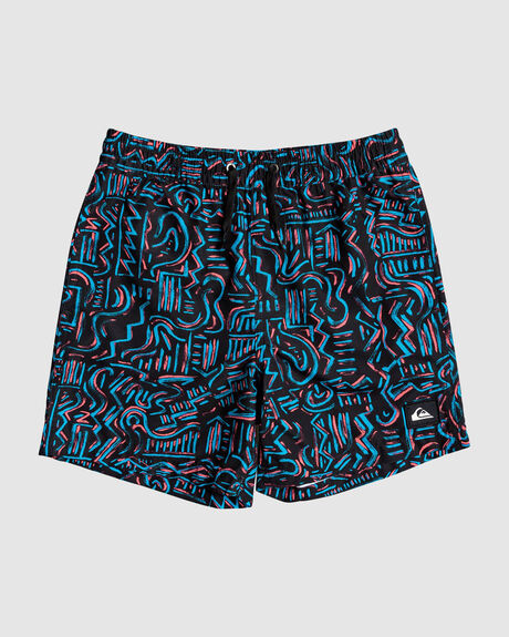 "TROPICAL BRUSH 14"" VOLLEY BOARDSHORTS"