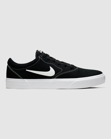NIKE SB CHARGE CANVAS BLK/WHT