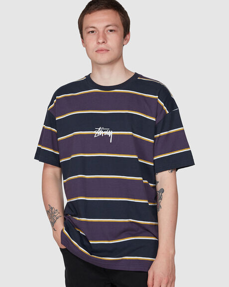 DARE YD STRIPE SHORT SLEEVE TEE