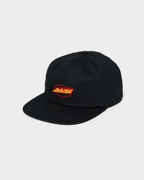 FLAME STRIP 6 PANEL SNAPBACK CAP