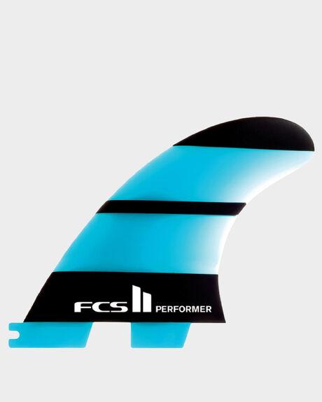 FCS II PERFORMER NEO GLASS LARGE TRI RETAIL FINS