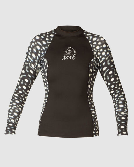 WOMENS WATER INSPIRED UV 6OZ LONG SLEEVE WITH KEY POCKET