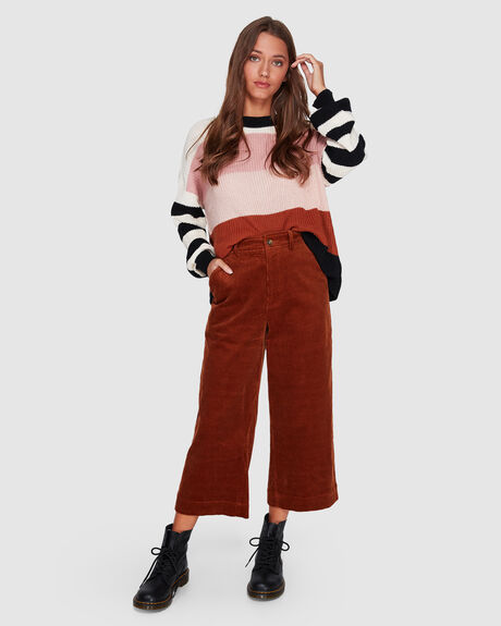 CORD LINES PANT