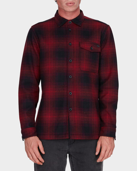 FURNACE BONDED FLANNEL LONG SLEEVE SHIRT