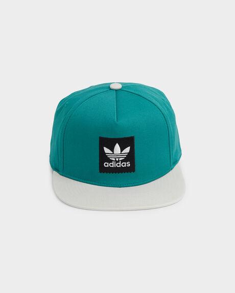 2 TONE BLACKBIRD SNAPBACK CAP