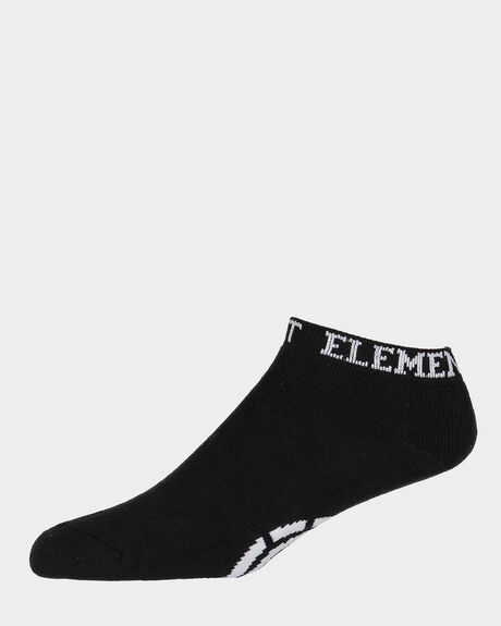 ELEMENT ANKLE SOCK BLACK