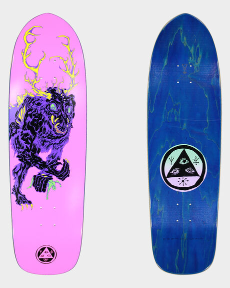 WENDIGO ON MAGIC BULLET SKATEBOARD DECK