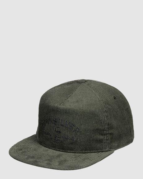 MENS CORD MONGER STRAPBACK HAT