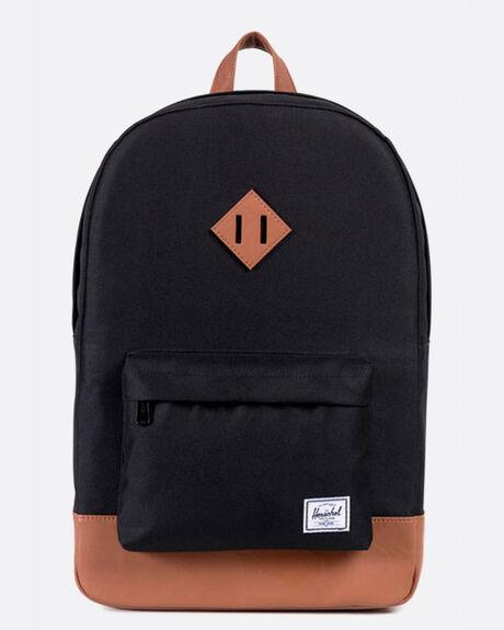 Heritage Backpack Black/Tan