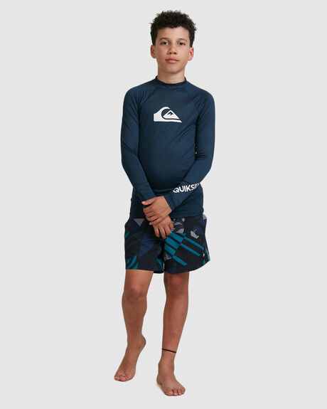 BOYS ALL TIME LS UPF50+ RASH VEST