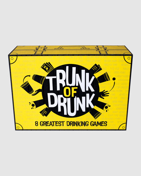 TRUNK OF DRUNK ADULTS DRINKING GAME