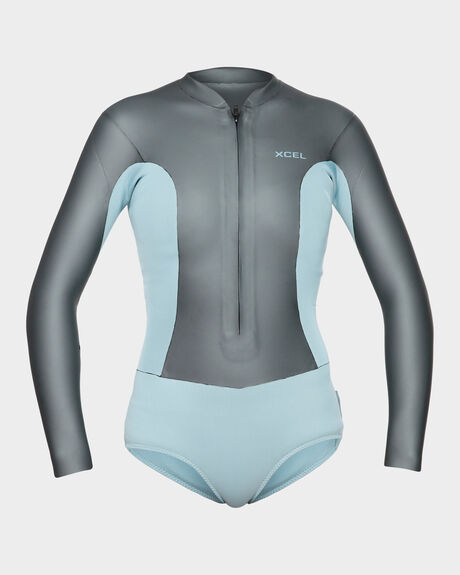 2MM LADIES COMP FRONTZIP SPRINGSUITS