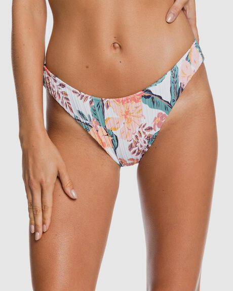 WOMENS JUST SHINE HIGH LEG BIKINI BOTTOMS