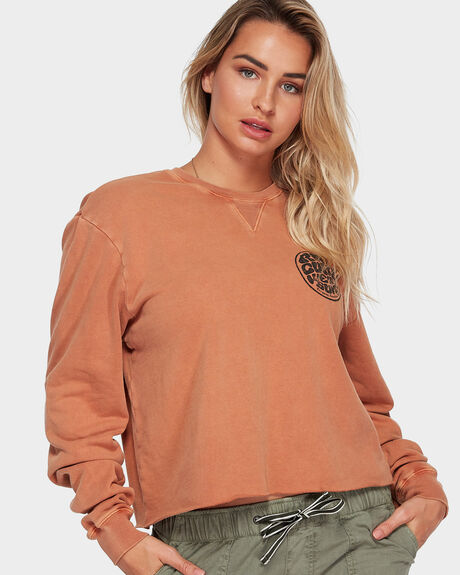 WETTIE CROP CREW JUMPER