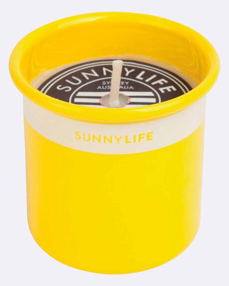 Citronella Candle Xs Yellow