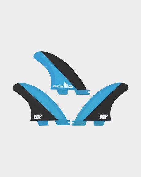 FCS II MF PC BLUE/BLACK MEDIUM TRI RETAIL FINS