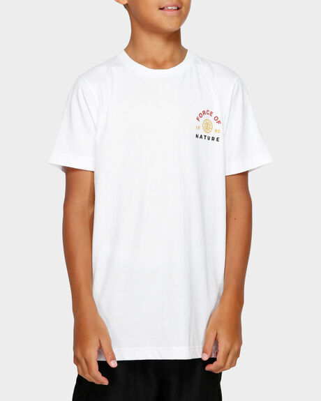 YOUTH FORCE OF NATURE SS TEE