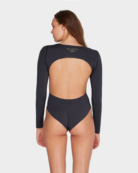 SURFED OUT LONG SLEEVE NEOPRENE ONE PIECE