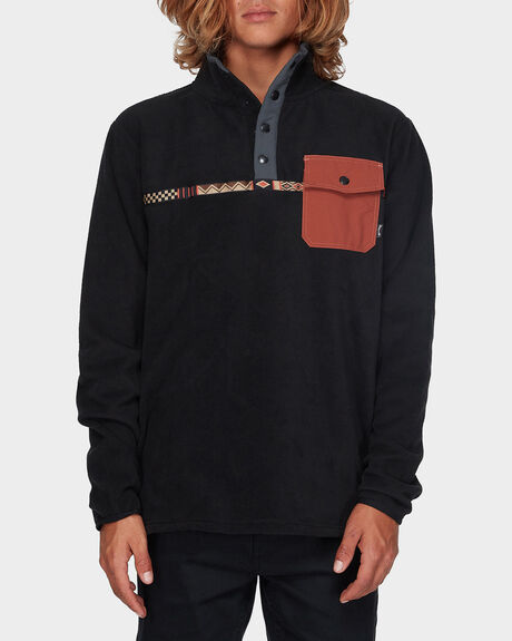 ATLAS MOCK NECK SWEATER