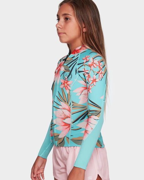 TEEN PEEKY LS 1MM FRONT ZIP JACKET