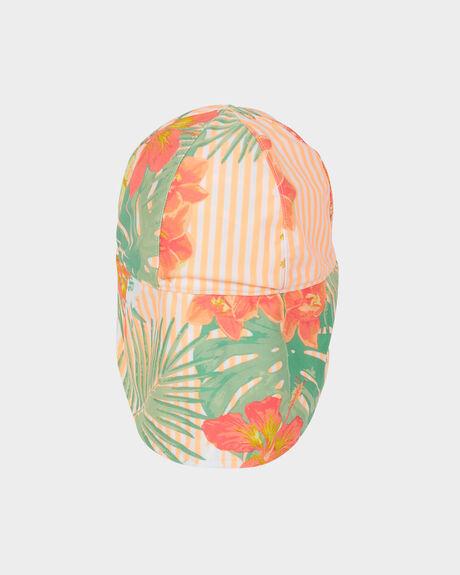 GIRLS COME AND GO SUN PROTECTION SWIM LEIGONNAIRES CAP