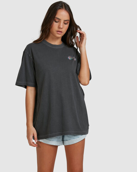 WOMENS POWERLINES UNISEX RETRO FIT TEE