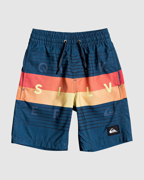 "WORD BLOCK 12"" VOLLEY BOARDSHORTS"