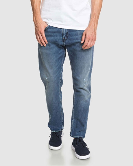 HIGH WATER LOST BLUE - HIGH WATER FIT JEANS