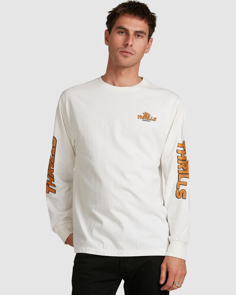 MENS BURNER MERCH FIT LONG SLEEVE TEE