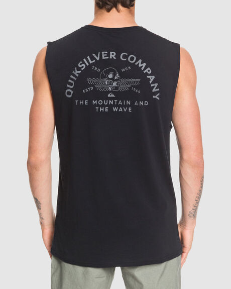 MENS WAVE REMAINS MUSCLE TEE