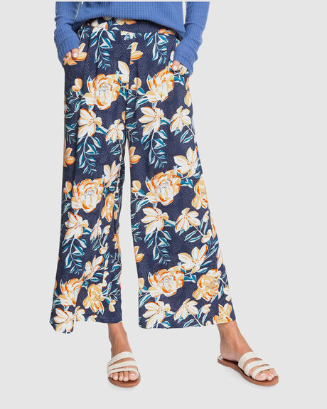 WOMENS MIDNIGHT AVENUE WIDE LEG TROUSER