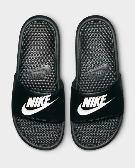 Nike Benassi Just Do It Slide  Black/White