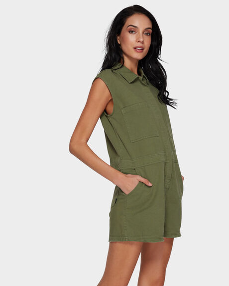 SURPLUS SLEEVELESS ROMPER
