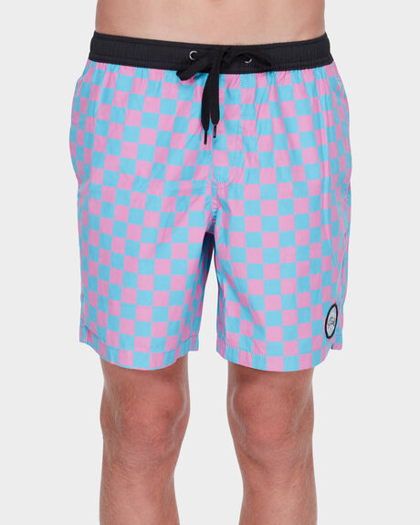 CHECKERS YOUTH SHORT