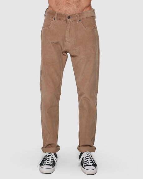 MENS STRAIGHT FIT CORDS PANTS - SHORT