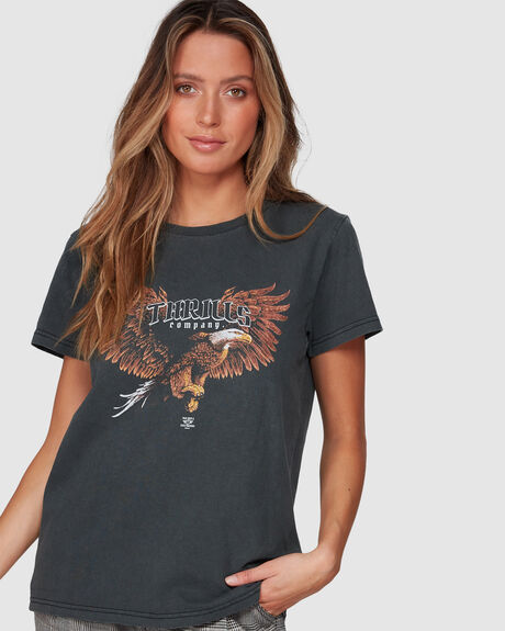 IN FLIGHT BAND TEE