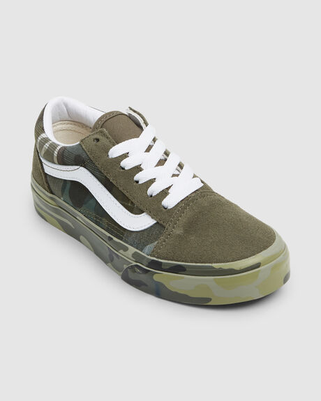 OLD SKOOL PLAID CAMO SHOE