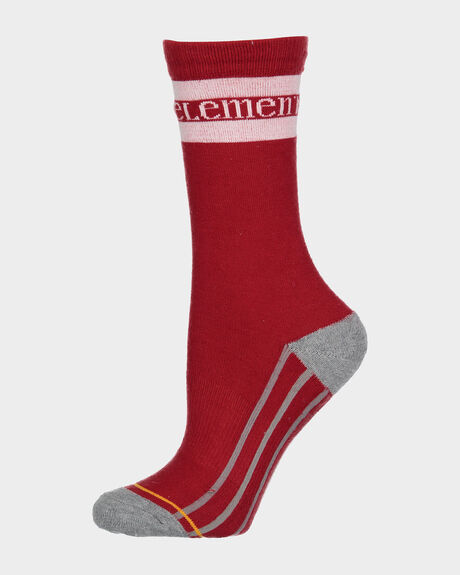 RED STRIPE SPORTS SOCK