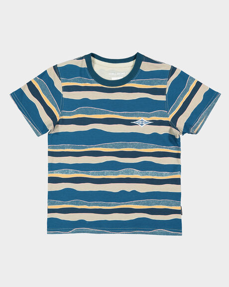 GROMS TEAR STRIPE TEE