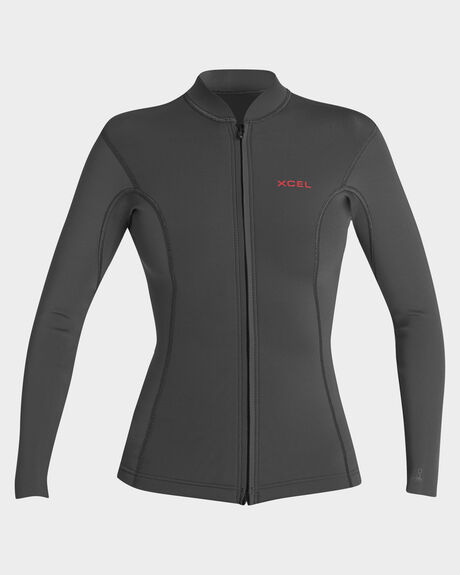 WOMENS AXIS 2/1MM L/S FRONT ZIP