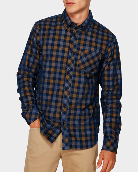 FREEWAY PLAID LONG SLEEVE SHIRT