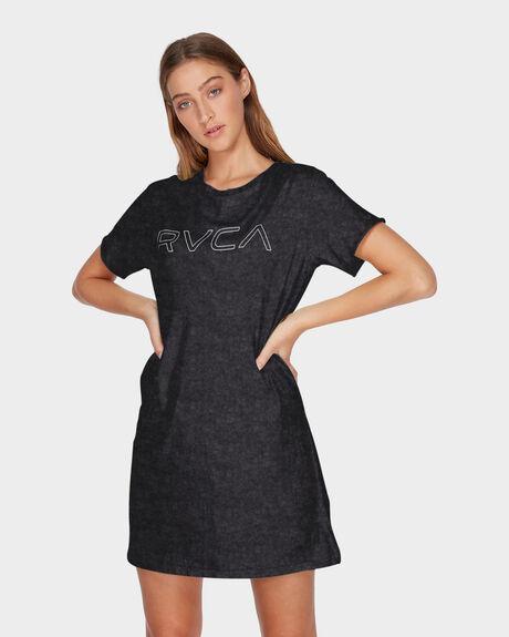 RVCA KEYLINE TEE DRESS